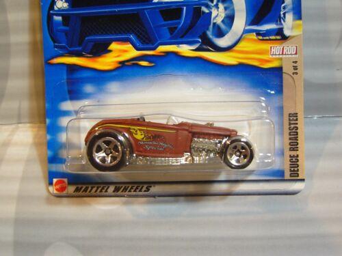 0710 2002 Hot Wheels /'/' Hot Rod Rivista /'/' #109 = Deuce Roadster = Marrone