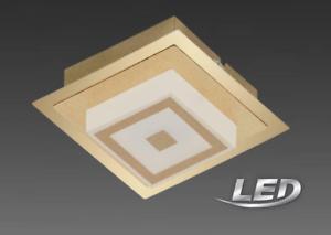 Briloner LED Deckenleuchte Deckenlampe  Gold  Farbe  Lampe Leuchte 3330-017