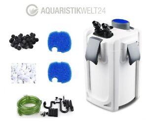 Filtre Externe Aquarium Hw-702a 15w 1000 L/h Jusqu'à 400l Bassin