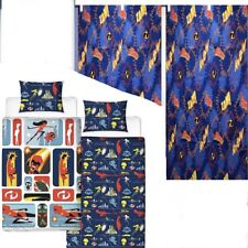 Disney Incredibles 2 Single Duvet Cover and Matching 100/% Cotton Curtains Set
