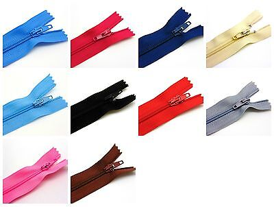 20 Cm 2.6cm Stitch And See Zips 6 In Pack