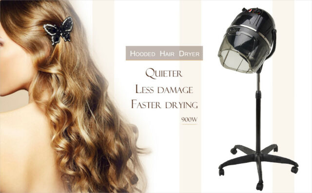 900W Beauty Salon Stand Hair Hood Dryer