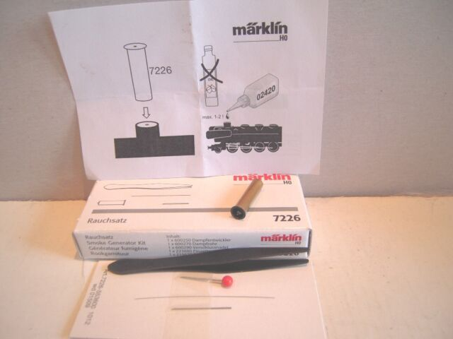 Märklin H0 7226 Rauchsatz OVP NEU Durchmesser 5 mm