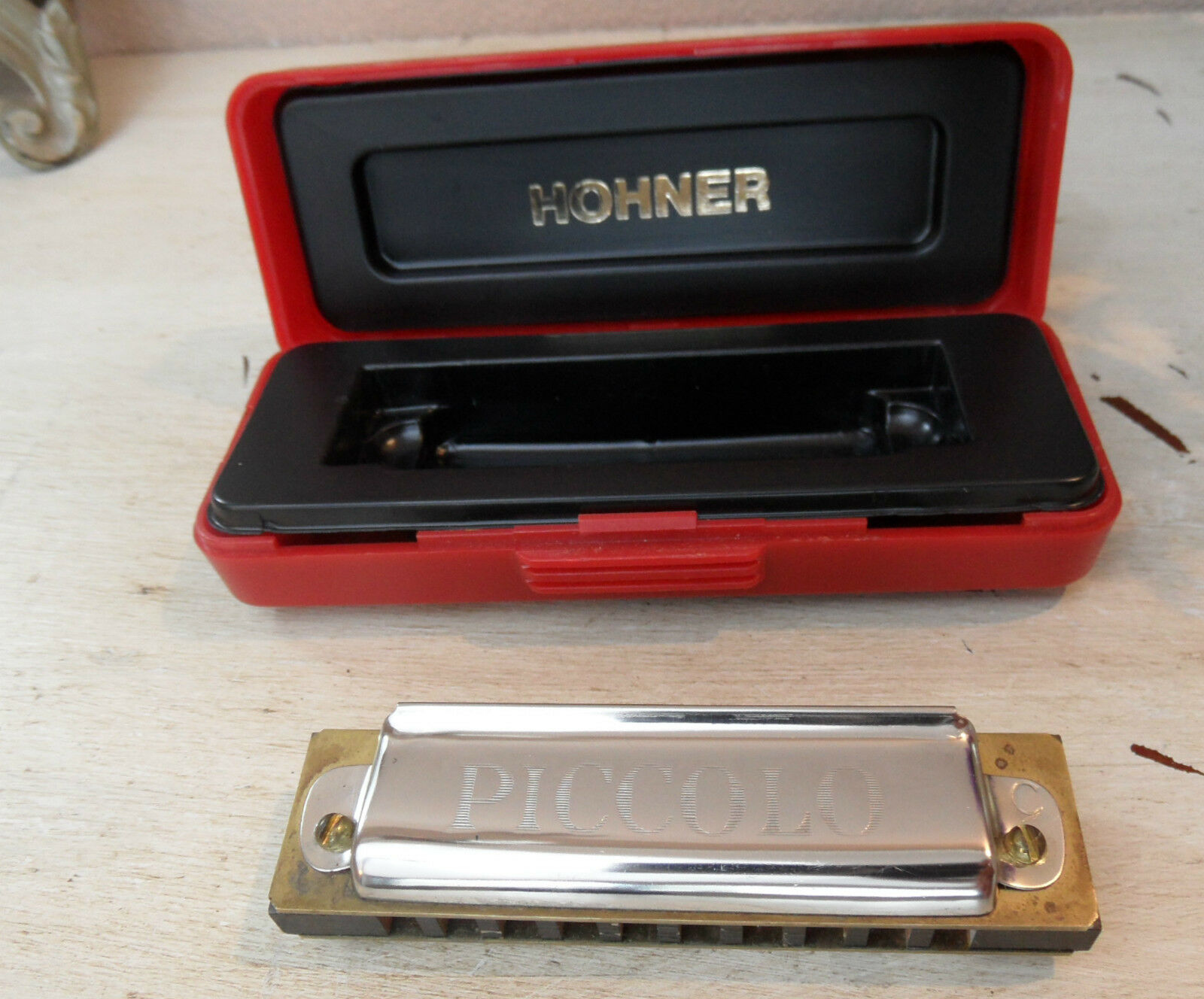 Mid Century Hohner Harmonica Piccolo 20 C