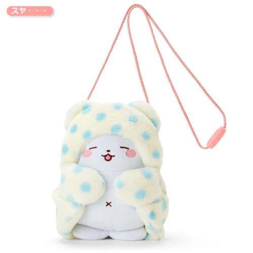 Marumofubiyori Sanrio Mop Bear Bag Pouch Neck pouch fluffy Sleep Japan New F//S