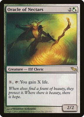 Oracle Of Nectars Shadowmoor Nm-m White Green Rare Magic Gathering Card Abugames