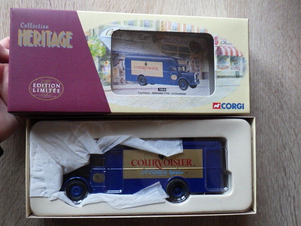 CORGI Collection Heritage 72010 Bernard Type 110 Fourgon COURVOISIER Cognac