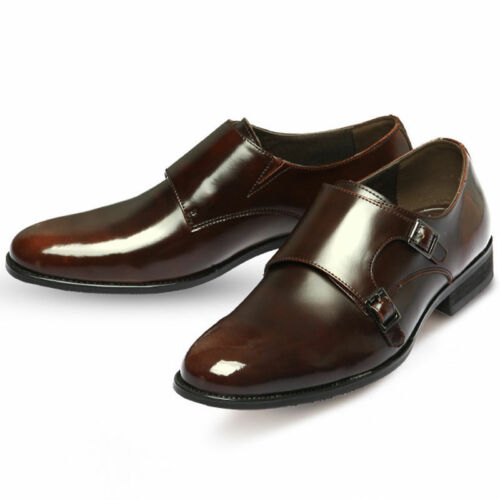 Classic Formal Loafer Dress Lace Up Mooda Leather Shoes Monk Mens qwInxgvT