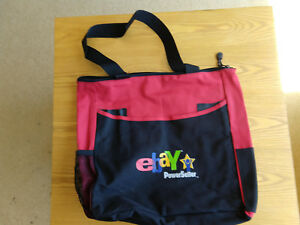 Ebay Powerseller Logo Red Black Tote Bag 15 X 17 X 2 5 Ebay Live 2004 Ebay