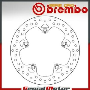 Brake Disc Fixed Brembo Oro Rear for Bmw R 1200 Gs Abs 1200 2013 > 2016