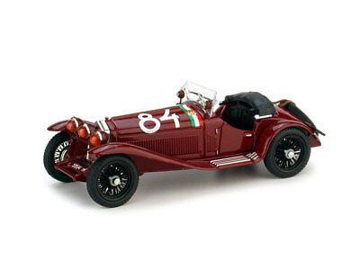 Diplomatico Alfa Romeo 1750gs - Mlle Miglia (1930) 1° Nuvolari #84 1:43 2005 Brumm