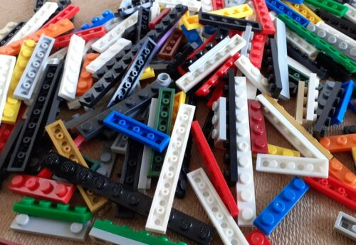 LEGO Mixed Colours /& Mixed Sizes 1 Stud Flat Plates Sold in sets of 100