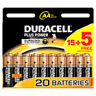 Duracell AA Batteries - 15 Pack + 5