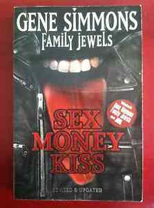 Kiss-Gene-Simmons-Sex-Money-Kiss-Book-2006-Paperback-Family-Jewels