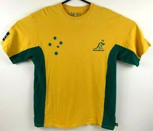 JG-Sports-Australian-Wallabies-Men-039-s-T-Shirt-Size-2XL-Official-Licensed-Product