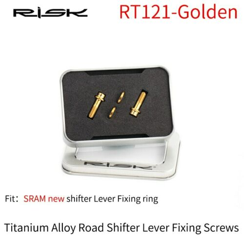 RISK RT120 RT121 Road Bicycle Shifter Lever Fixing Bolts Bike Shift Ring Screws