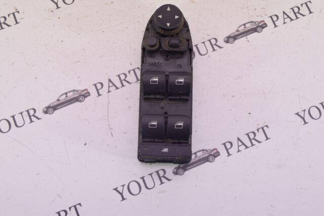 9122111BMW 2005-2010 5 Serie E60 E61 LCI Lado Conductor Interruptor de Ventana