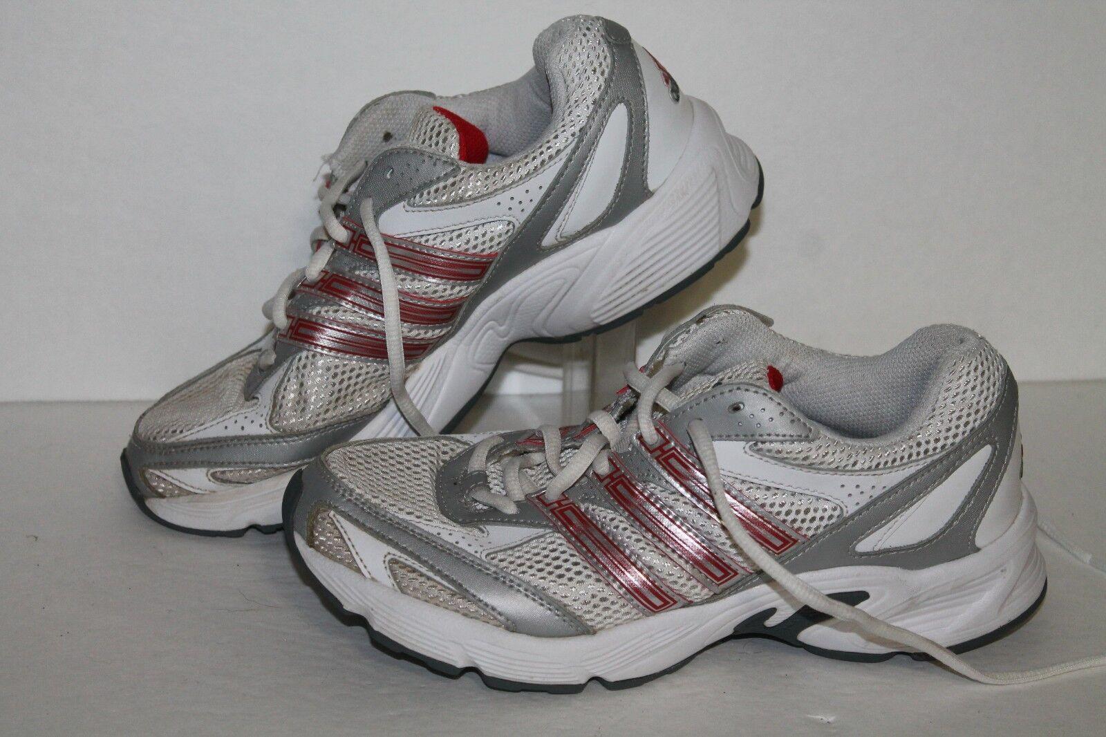 Adidas sconfiggere 3 scarpe da corsa,   g09407, bianco   rosso   argentoo, le donne noi 6,5 | Buy Speciale  | Maschio/Ragazze Scarpa