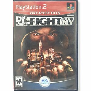 Def Jam: Fight for NY (PlayStation 2, 2004) no manual, GREAT CONDITION, see desc