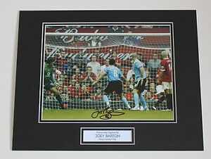 d82abdb7e75 Joey Barton In Manchester City Shirt HAND SIGNED Autograph Photo ...