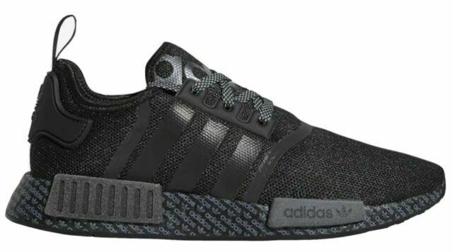 Size 8 - adidas NMD R1 Print Boost - Black