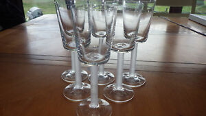 Bryce-Crystal-Wine-Glasses-Frosted-Round-Stem-Clear-Bowl-6-8-oz-elegant-stemware