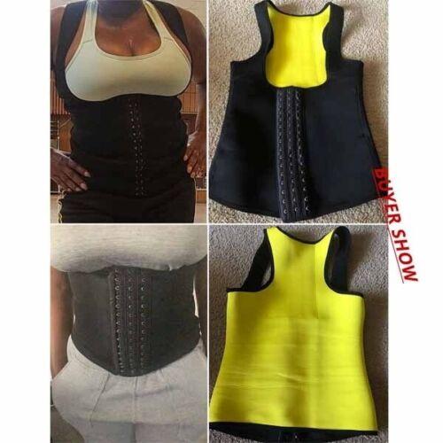 Women/'s Waist Trainer Girdle Slimming Belt Corset Tummy Control Vest Body Shaper