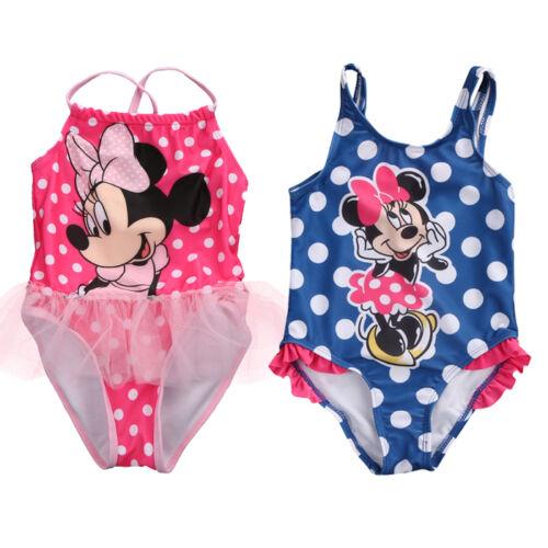 Baby Girls Kids Child Toddler Mickey Mouse Swimwear Swimsuit Tankinis Bikini Set