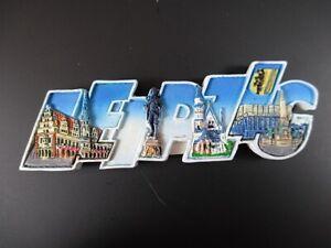 Leipzig-Germany-Premium-Souvenir-Magnet-Polyresin-Grossbuchstaben-NEU
