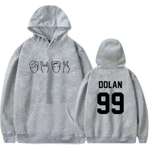 Dolan Twin Jerzees Print Sweatshirt Hoodie Jumper Jacket