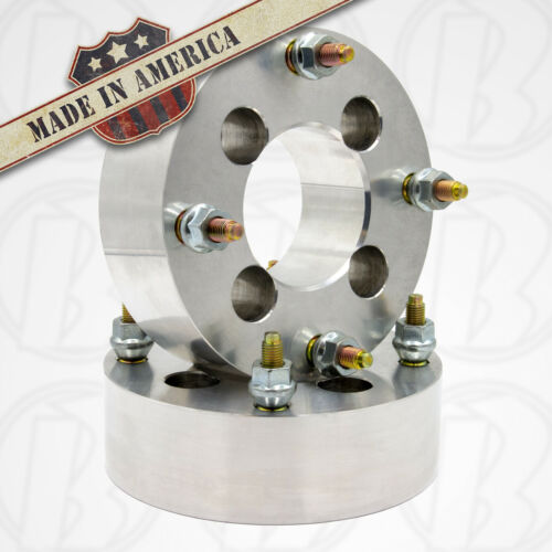 "2 pc 4x4 to 4x156 Wheel Adapters//Spacers 2/"" Thick 12x1.5USA MADE 4x101.6mm"