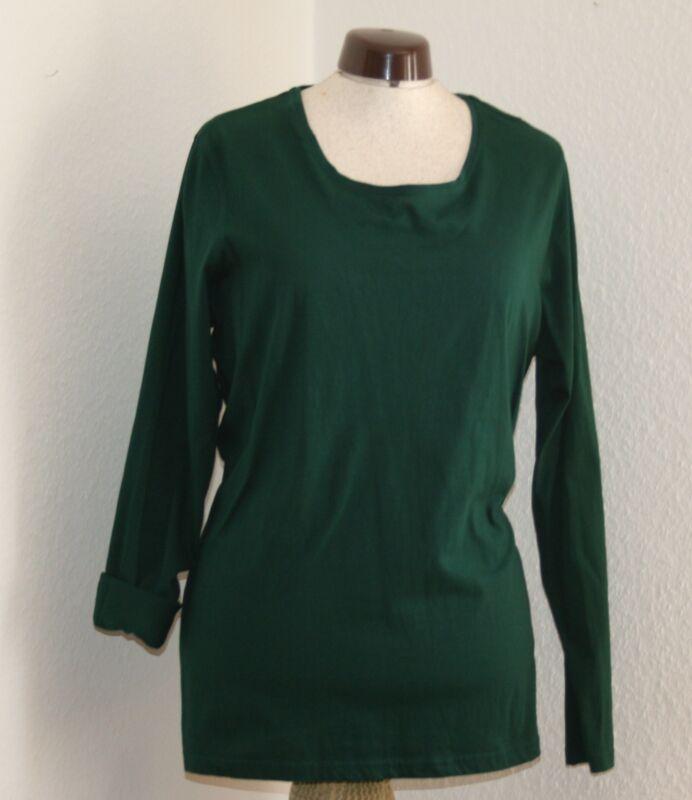 """UnermüDlich Grüne Shirt """"s-l"""" Schrumpffrei"""