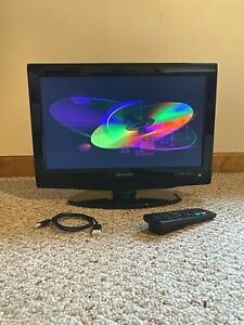 """Sharp LC-19DV27UT 19"""" 720p HD LCD television with built-in DVD player (+ Extras)"""