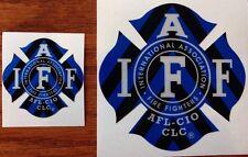 """1 FIRE DEPARTMENT EMT Firefighter Chevron Reflective 3M Helmet Sticker Decal 2/"""""""