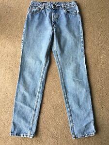 en légèrement jambe 34 normale effilé Levis L droite jean taille 506 jean 8SwtvHq