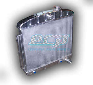 Details about The BEST 1955 - 1957 Chevy Bel Air Nomad V8 Aluminum Radiator  - HUGE 1