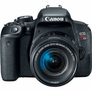 Canon EOS Rebel T7i DSLR Camera with 18-55mm Lens 841434166173