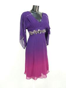 Robe Gr R En Avec Multicolore 36 Nouveau N Des Millen Étiquettes Karen Soie 0884 5zExqOgc