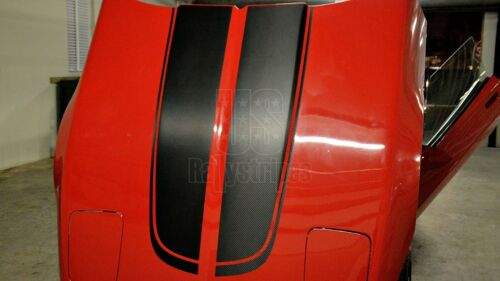 Chevrolet Corvette C4 1984-1996 sport front hood racing stripes pre-cut decal