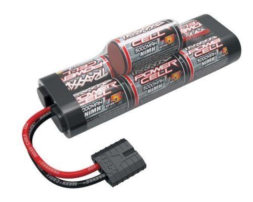 Traxxas 8.4 V 5000 mAh NiMh joroba batería con enchufe de identificación Rustler Stampede TRA2961X