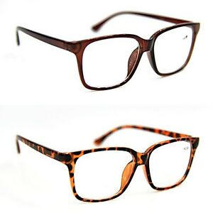 a0a9158ca203 Image is loading Bifocal-Fashion-Geek-Nerd-Unisex-Stylish-Reading-Glasses-