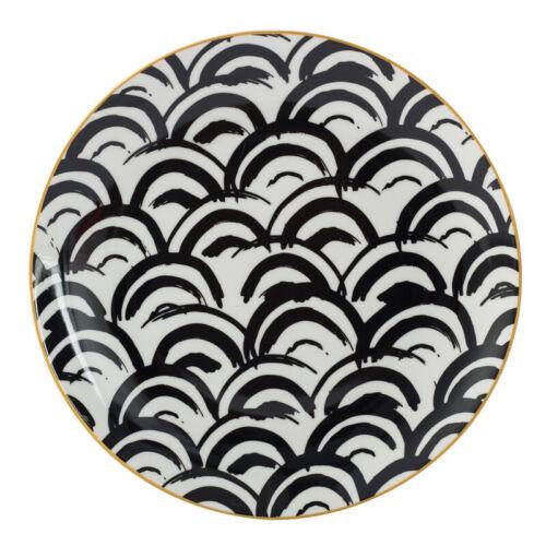 1pc Tableware Phnom Penh Geometry Tableware 6//8//10 Inch Ceramic Dinner Plate