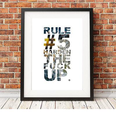 Eddy Merckx Ciclismo ❤ ❤ Regola 5 Poster Stampa In Edizione Limitata 5 Taglie #10- Prestazioni Affidabili