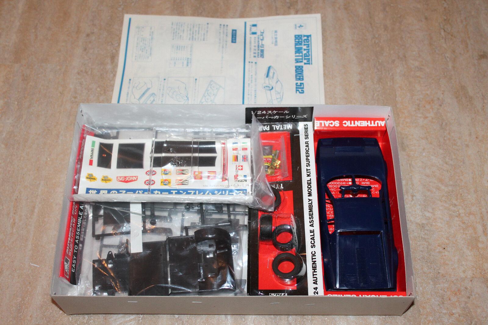 Nakamura Sangyo 5206 5206 5206 Ferrari 512 BB berlinetta boxer 1 24 NEU OVP RAR 557f59