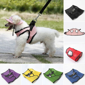 Pet-Harness-Cloth-Dog-Puppy-Soft-XS-XL-Apparel-Size-Walking-Collar-2019