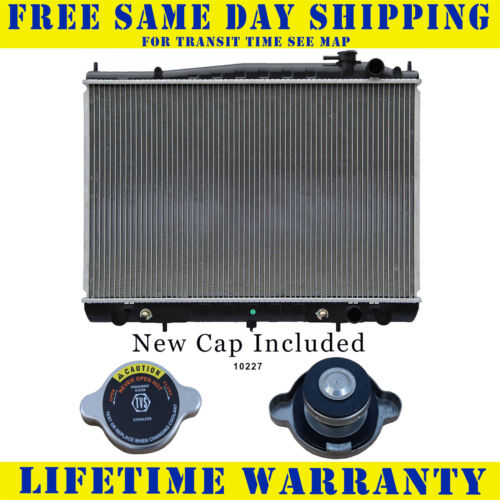 Radiator With Cap For Nissan Fits Frontier Xterra 3.3 V6 6Cyl 2409WC