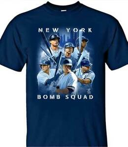 New-York-Yankees-MLBPA-NY-BOMB-SQUAD-Men-039-s-Tee-Shirt-Sizes-S-4XL