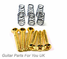 GOLD Electric Guitar single coil pickup screws and springs ST TL LP electric