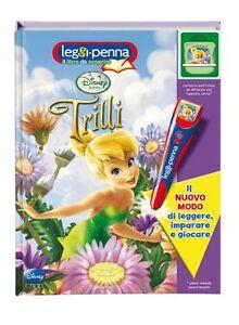Trilli-Con-cartuccia-elettronica-Leggi-Penna-Disney-PIXAR-Libro-Nuovo
