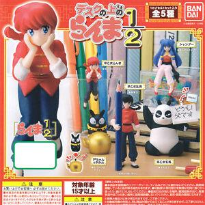 Bandai Ranma 1/2 landed Sitting Desktop Decorate Your Desk Figure